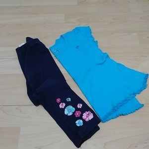3/10$ Childrens Place girl 2 pieces set 4T
